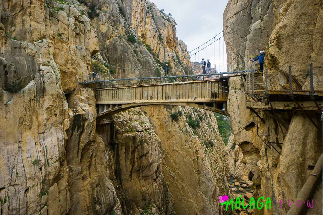 El Balconcillo de los Gaitanes and new hanging bridge