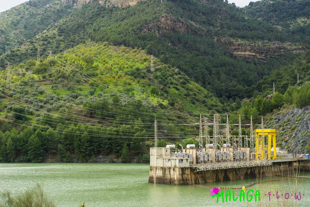 The modern Hydro-electric plant of El Chorro
