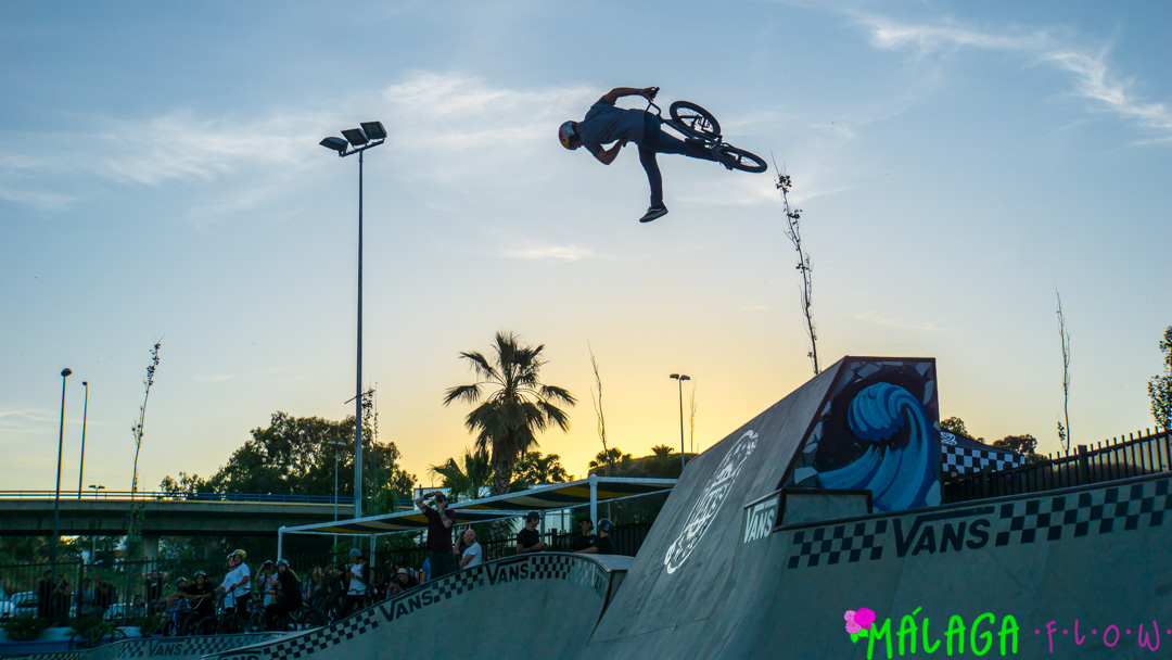 b1976f6fd7 The MF Team had the pleasure of being invited to attend the Vans BMX Pro Cup  hosted at Rubén Alcántara Skate Park here in our own beloved Málaga.